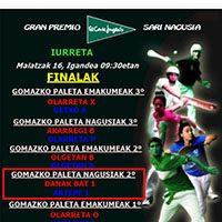 Gomazko beste final bat