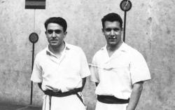 """Azpitxapeldunak Bigarren Maila 1955:Muñoa-J. Etxebarria """"Erbi"""""""