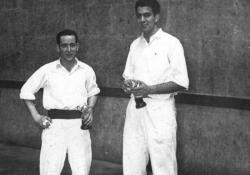 Azpitxapeldunak Lehen Maila 1956:M. Garcia-J.L. Lopez Landa