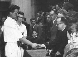 """Azpitxapeldunak Lehen Maila 1956:""""Errotako"""" Bilbao anaiak"""
