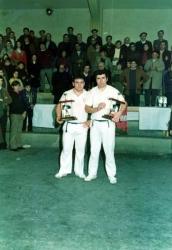 Azpitxapeldunak Lehen Maila 1976-1977:Lopategi-Ojinaga (Mungia)