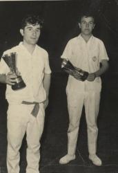 Azpitxapeldunak Bigarren Maila 1969-1970:J. Elorrieta-R. Lopategi (Mungia)