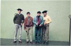 Gazteak Mailako Finala 1984-1985Txapeldunak: Azkarate-Azkarate (Elorrio)Azpitxapeldunak: Ortiz (Sestao)- Olabarri (Zornotza)