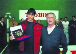 Pelotari Nabarmenena 2000-2001:Bengoetxea