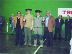 Txapeldunak Kadete Maila 2000-2001:Amantegi-Zubiate (Abadiño)